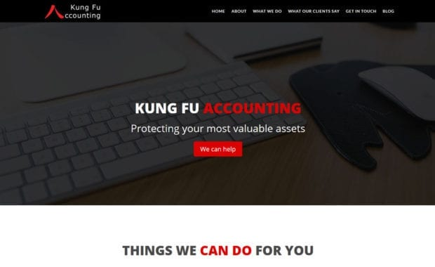 Kung Fu Accounting by Jenks Cloud