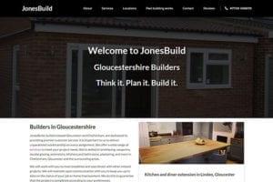 GloucestershireBuilders WordPress website